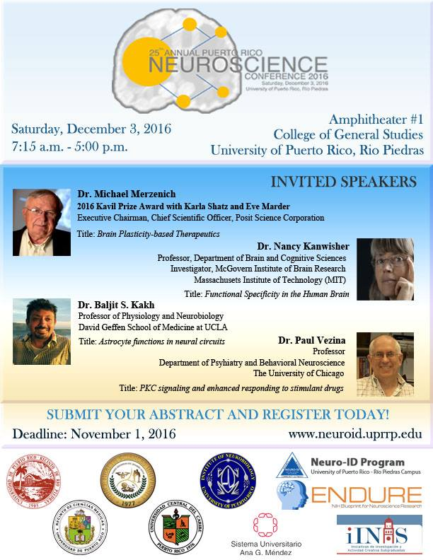 25th Annual Puerto Rico Neuroscience Conference
